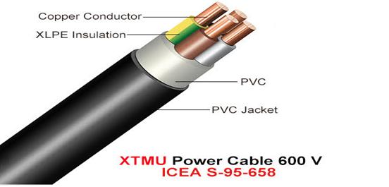 XLPE PVC Cable