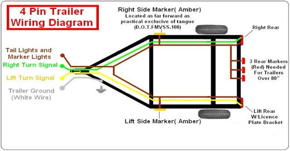 4 Wire Trailer Expert Guidelines, 7 Pin Trailer Wiring Not Working